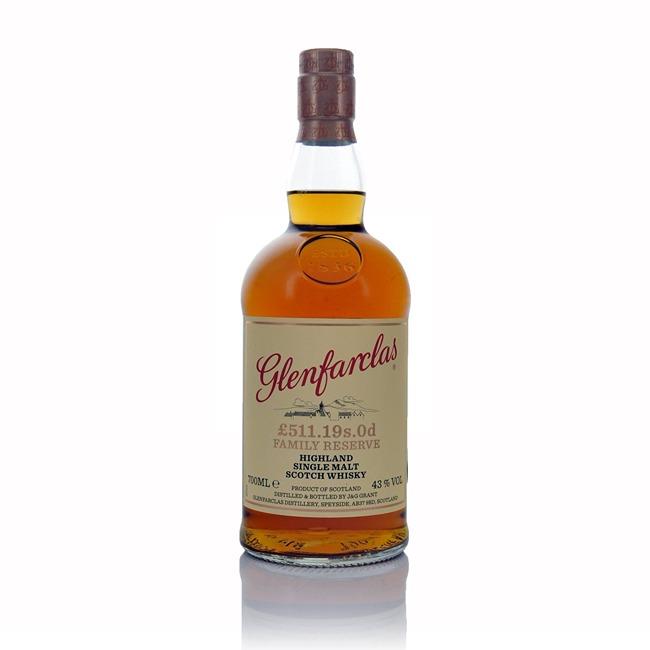 Glenfarclas Family Reserve 511.19s.0d Single Malt Scotch