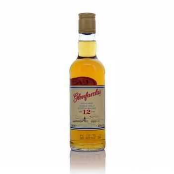 Glenfarclas Single Malt Scotch Whisky 12 Year old 350ml  - Click to view a larger image