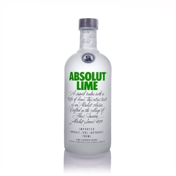 Absolut Lime Swedish Vodka 70cl  - Click to view a larger image