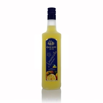 Cassano Limoncello Di Sorrento 700ml  - Click to view a larger image