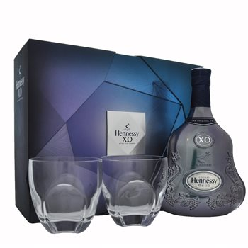 Hennessy XO 2 Glass Gift Set  - Click to view a larger image