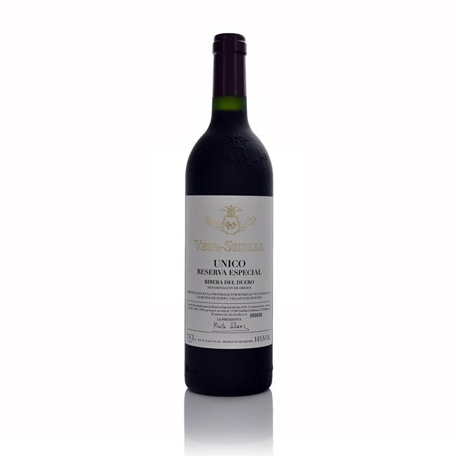 Vega Sicilia Unico Reserva Especial NV 2018 Release  - Click to view a larger image