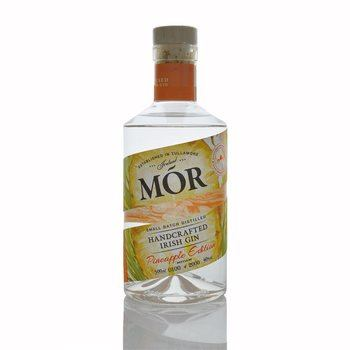 Mor Handcrafted Irish Gin Pineapple Edition  - Click to view a larger image