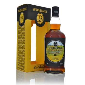 Springbank Local Barley 10 Year Old Cask Strength 56.2% ABV  - Click to view a larger image