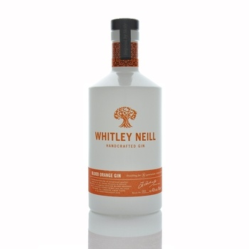 Whitley Neill Blood Orange Handcrafted Gin 700ml  - Click to view a larger image