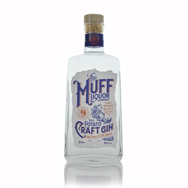 The Muff Liquor Company Irish Potato Craft Gin 700ml  - Click to view a larger image