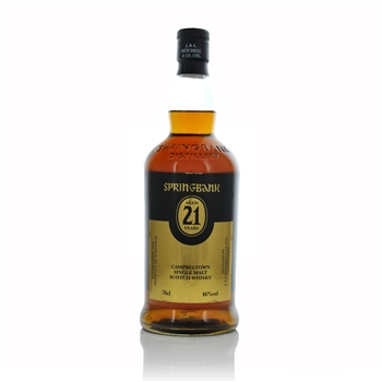 Springbank Single Malt Aged 21 Years  - Click to view a larger image