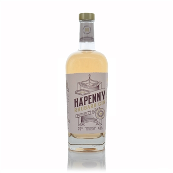 Ha'penny Rhubarb Pot Still Gin 700ml  - Click to view a larger image