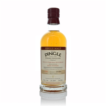 Dingle Single Malt Irish Whiskey Batch 3  - Click to view a larger image