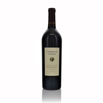 Cakebread Cellars Benchland Select Napa Valley Cabernet Sauvignon 2013  - Click to view a larger image