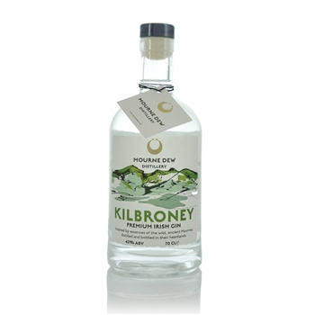 Mourne Dew Distillery Kilbroney Premium Irish Gin  - Click to view a larger image