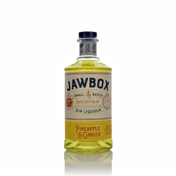 Jawbox Pineapple and Ginger Gin Liqueur  - Click to view a larger image