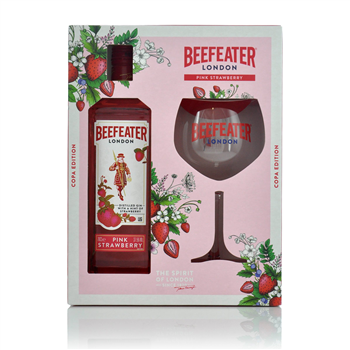 Beefeater Pink Glass Set 700ml  - Click to view a larger image