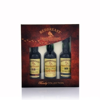 Redbreast Family Collection 3 x 50ml  - Click to view a larger image