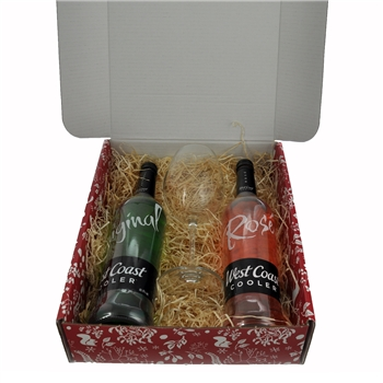 West Coast Cooler Christmas Gift Set  - Click to view a larger image