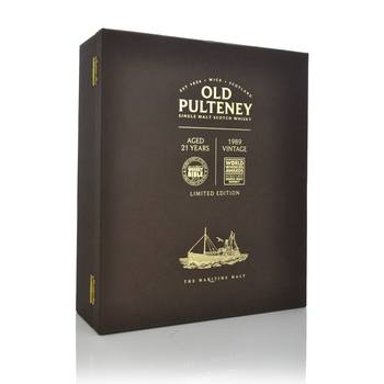 Old Pulteney Aged 21 Years and 1989 Vintage Set  - Click to view a larger image