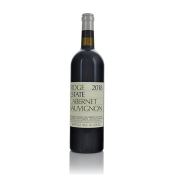 Ridge Estate Cabernet Sauvignon 2017  - Click to view a larger image