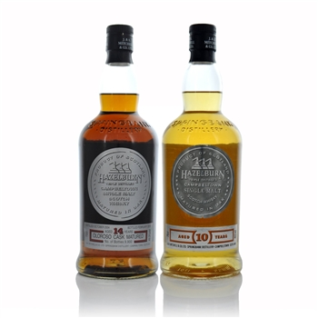 Hazelburn 14 Year old Oloroso Cask & 10 Year Old Scotch Whisky - 2 X 700ml  - Click to view a larger image