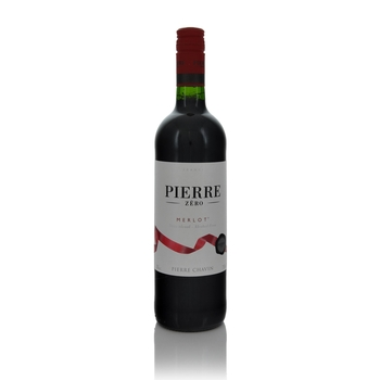 Pierre Chavin Pierre Zero Merlot Alcohol Free  - Click to view a larger image