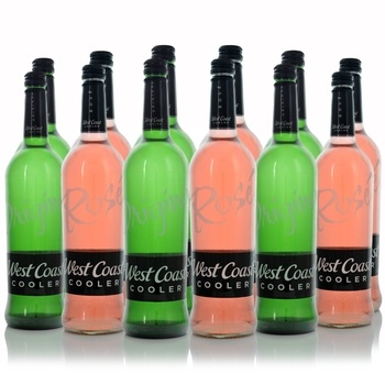 West Coast Cooler 750ml Mixed Case   - Click to view a larger image
