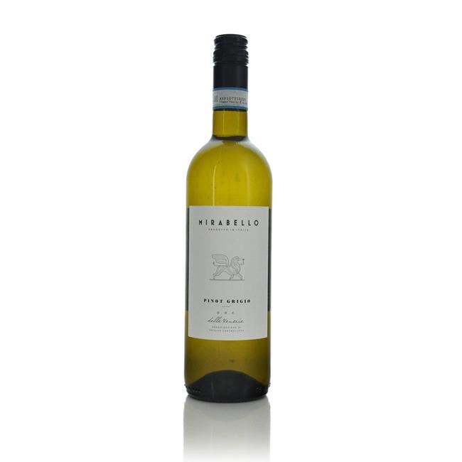 Mirabello Pinot Grigio DOC Delle Venezie 2018  - Click to view a larger image