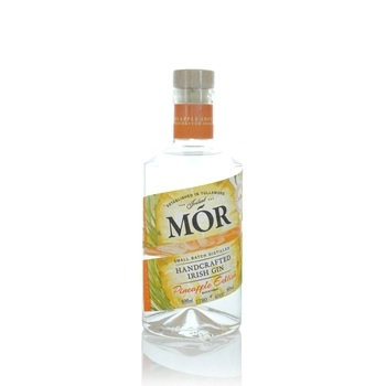 Mor Handcrafted Irish Gin Pineapple Edition 500ml  - Click to view a larger image