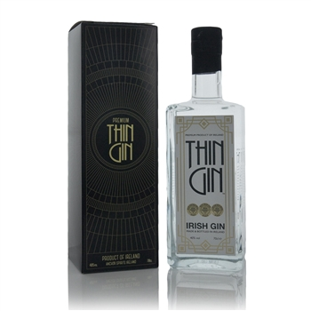 Thin Gin Christmas Wrapped Irish Dry Gin 700 ml  - Click to view a larger image