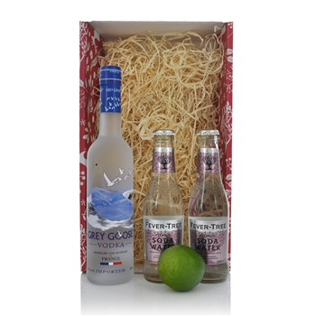 Grey Goose 35cl Christmas Gift Set  - Click to view a larger image