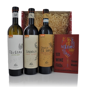 Lunaria Winery Christmas Gift Set  - Click to view a larger image