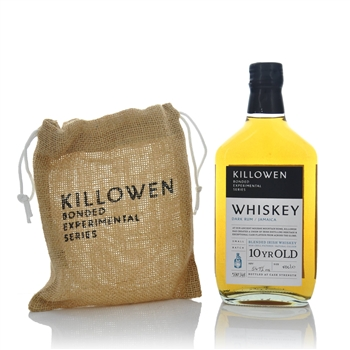 Killowen Bonded Experimental Series 10 Year Old Irish Whiskey Dark Rum Finish  - Click to view a larger image