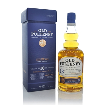 Old Pulteney 18 Year Old 700ml  - Click to view a larger image