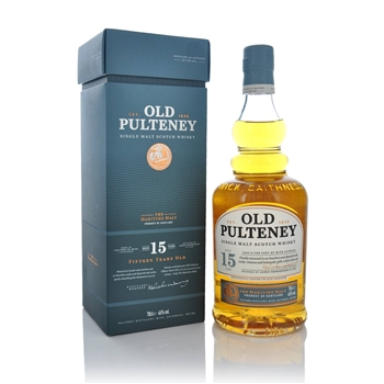 Old Pulteney 15 Year Old 700ml  - Click to view a larger image