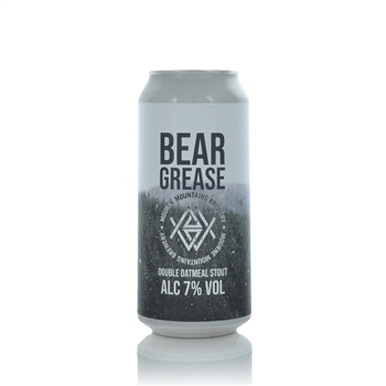 Mourne Mountains Brewery Bear Grease 7.0% Double Oatmeal Stout  - Click to view a larger image