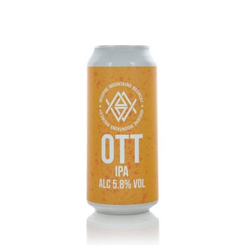 Mourne Mountains Brewery Ott IPA 5.8% American IPA  - Click to view a larger image