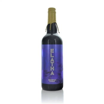 Lacada Elatha Imperial Stout 9.5% ABV 750ml  - Click to view a larger image