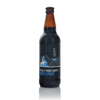 Lecale Three Saints Irish Stout 4.5% ABV  - Click to view a larger image