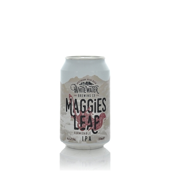 Whitewater Brewery Maggies Leap Formidable IPA 4.7% ABV 330ml Can  - Click to view a larger image