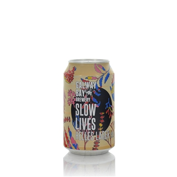 Galway Bay Brewery Slow Lives Helles Lager 5%ABV  - Click to view a larger image