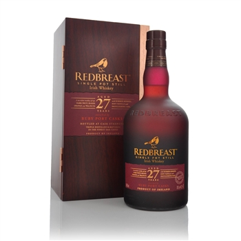 Redbreast 27 Year Old Single Pot Still Irish Whiskey B1/19  - Click to view a larger image