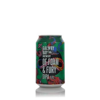 Galway Bay Brewery Of Foam And Fury DIPA 8.5% ABV 330ml   - Click to view a larger image