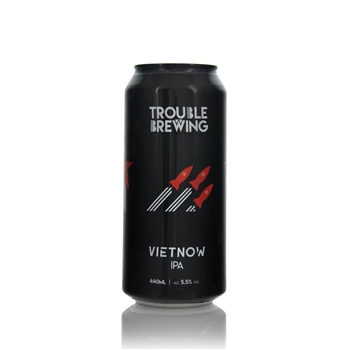 Trouble Brewing Vietnow IPA 5.5% ABV 440ml   - Click to view a larger image