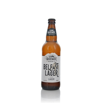 Whitewater Brewery Belfast Lager 4.5% ABV  - Click to view a larger image