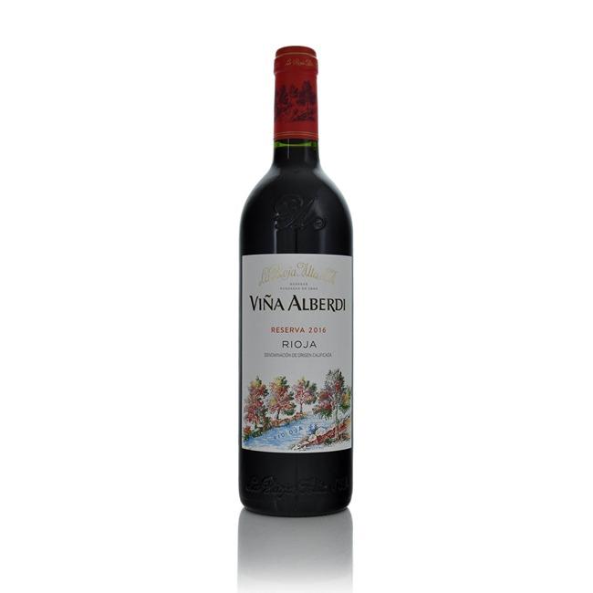 La Rioja Alta Vina Alberdi Reserva Rioja 2014  - Click to view a larger image