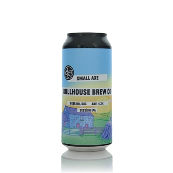 Bullhouse Brew Co Small Axe Session IPA 4.5% ABV  - Click to view a larger image