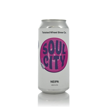 Twisted Wheel Brew Co. Soul City NEIPA 6.5% ABV  - Click to view a larger image