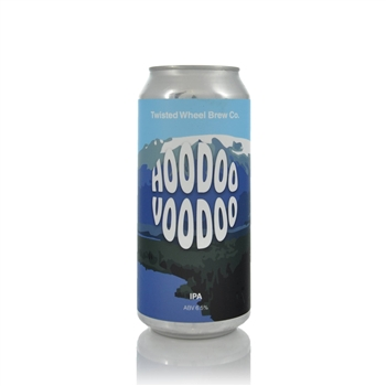 Twisted Wheel Brew Co. Hoodoo Voodoo IPA 6.5% ABV  - Click to view a larger image