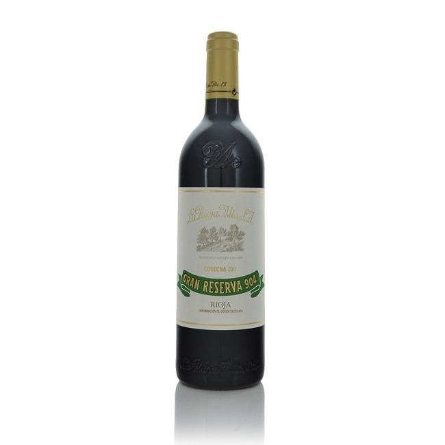 La Rioja Alta Gran Reserva 904 2011  - Click to view a larger image