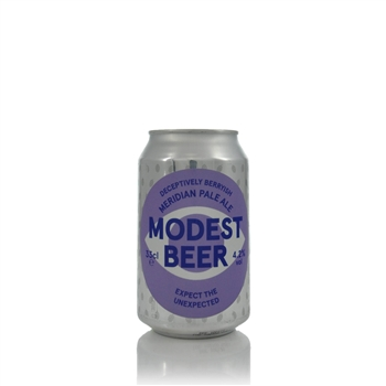 Modest Beer Expect The Unexpected Meridian Pale Ale 4.2% ABV  - Click to view a larger image