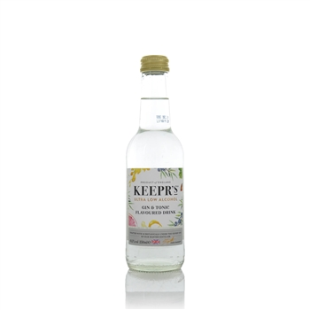 Keeprs Ultra Low Gin & Tonic Flavoured Drink  - Click to view a larger image