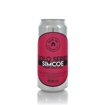 Beer Hut Brewing Company Solo Series Simcoe IPA 6.0% ABV  - Click to view a larger image